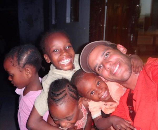 With Kids at Zanzibar