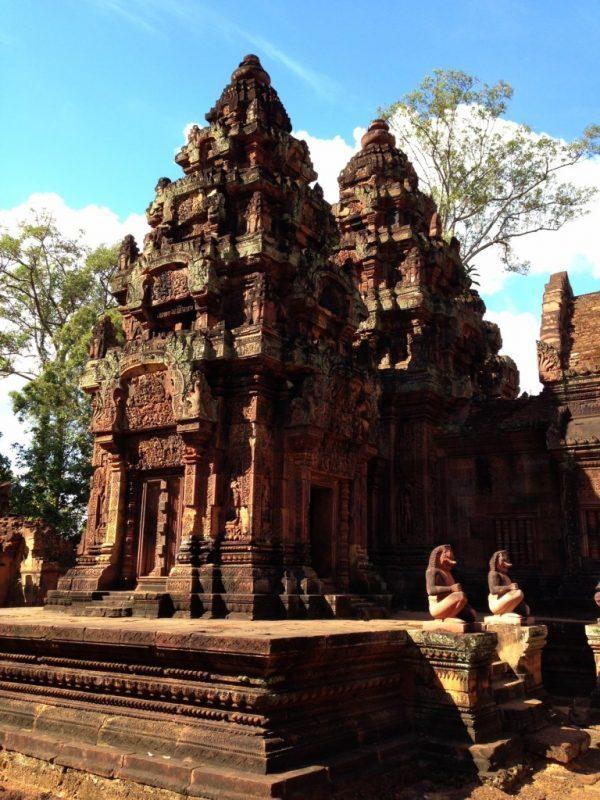 Banteai Srei in Angkor