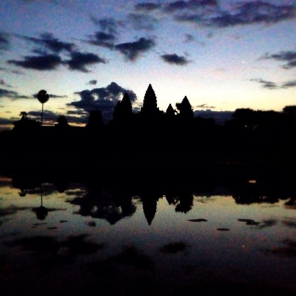 Pre sunrise at Angkor Wat, Siem Reap