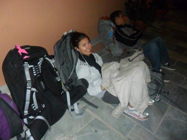 Sleeping on the Sidewalk