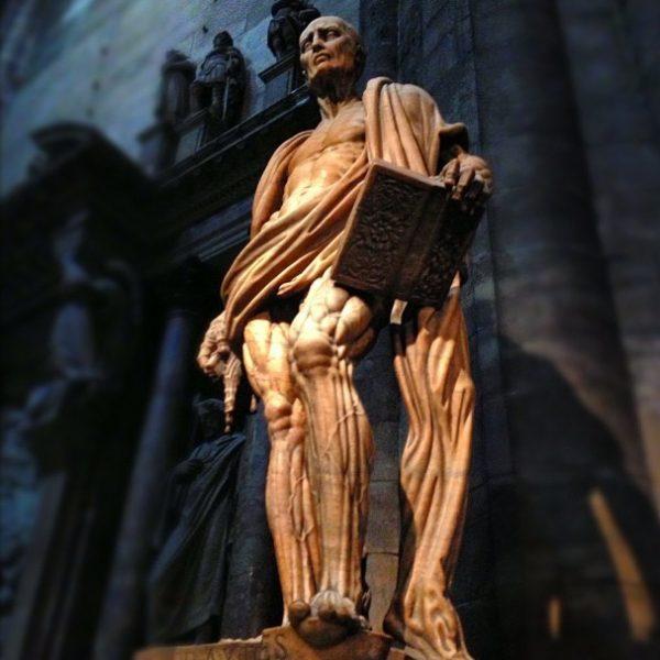 St. Bartholomew in Milan's Duomo, Italy