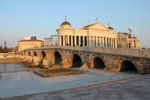 Snapshot: Skopje's Stone Bridge