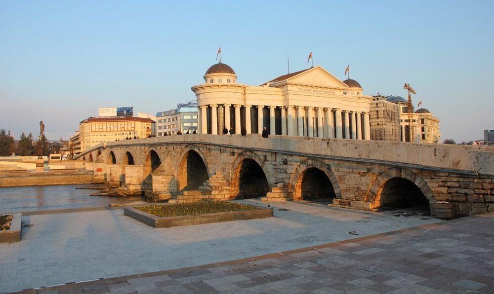 Skopje Stone Bridge, Macedonia
