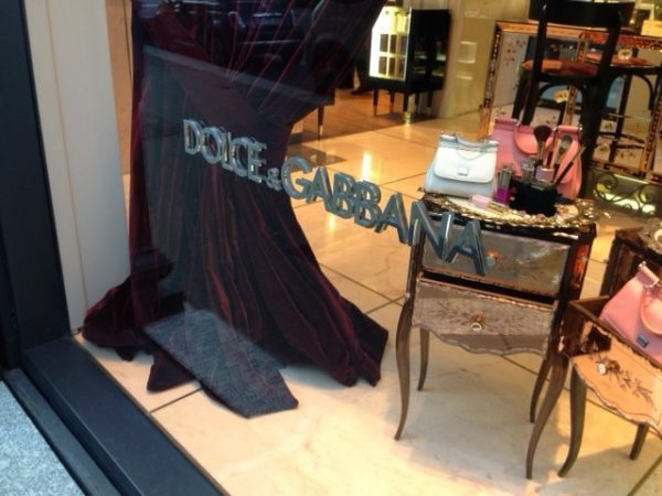 Dolce and Gabbana Milan