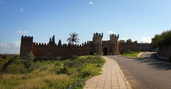 Chellah, Rabat, Morocco