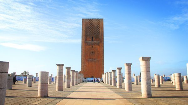 Hassan Tower Rabat, Morocco