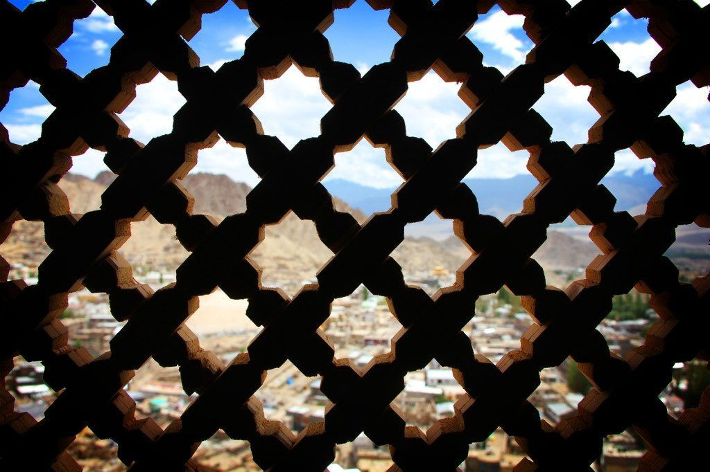 Leh Palace screen