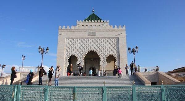 Mausoleum Rabat, Morocco