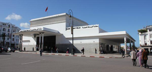 Rabat Ville Station, Morocco