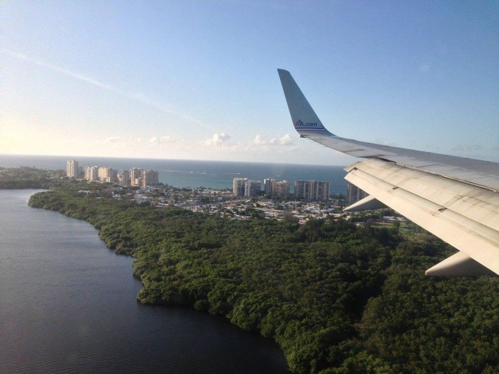 Flying Puerto Rico