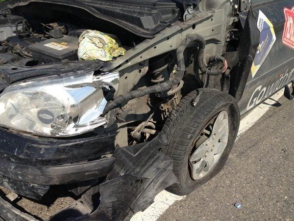 Mongol Rally Crash