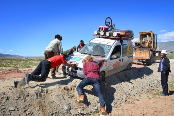 Mongol Rally 2013