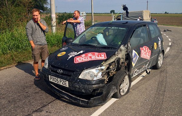 Crash in Russia