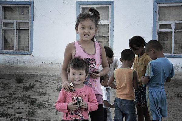 Kids in Kazakhstan