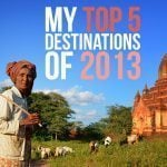 My Top 5 New Destinations of 2013