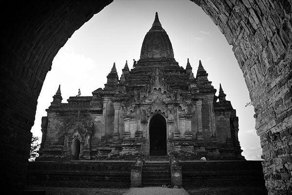 Shwe Leik Too Temple in Bagan, Myanmar
