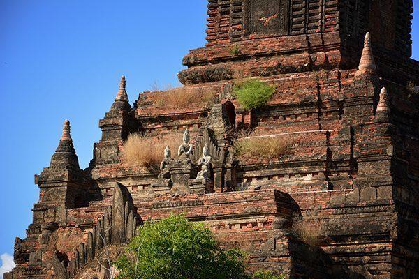 Hsin Phyu Shin Monastic Complex in Bagan, Myanmar