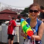 Celebrating Songkran In Chiang Mai, Thailand