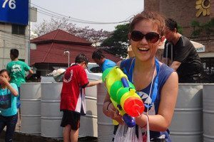 Songkran Girl