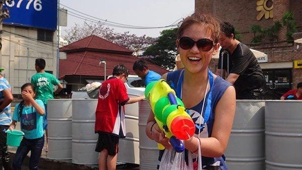 Songkran Girl
