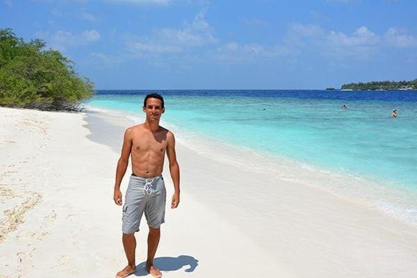 At Kuda Bandos in Maldives