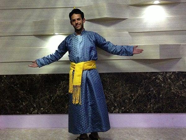 Mongolian dress