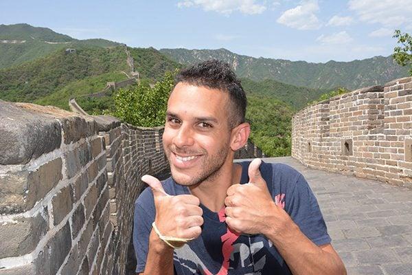 Norbert Wall of China