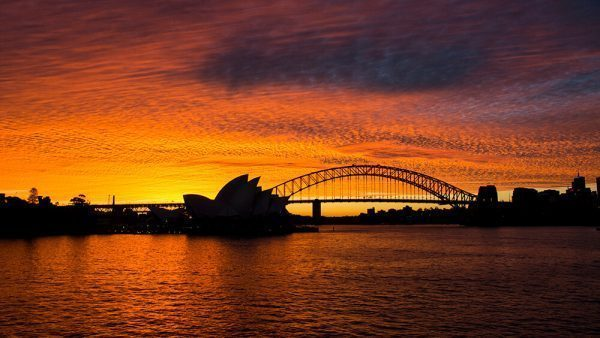 Sunset in Sydney