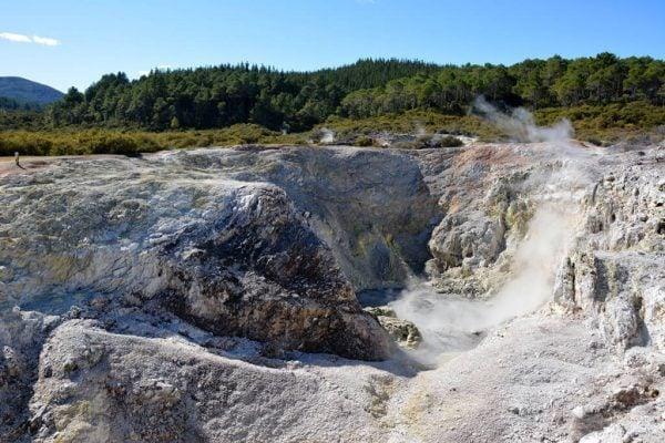 Crater in Rotorua