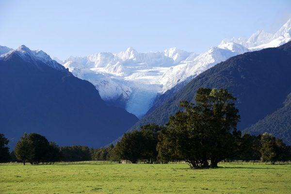Fox Glacier in New Zealand