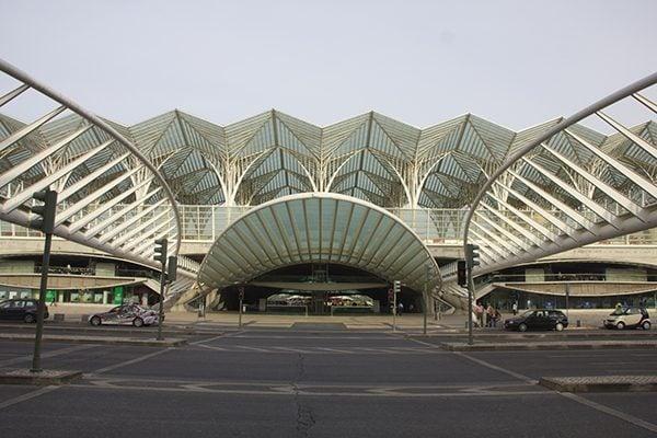 Gare do Oriente, Lisbon