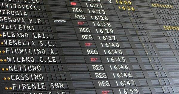 Train Schedule in Rome