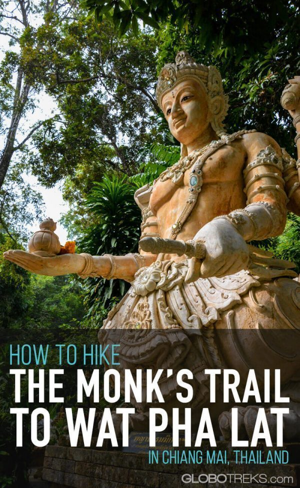How to Hike the Monk's Trail to Wat Pha Lat in Chiang Mai, Thailand