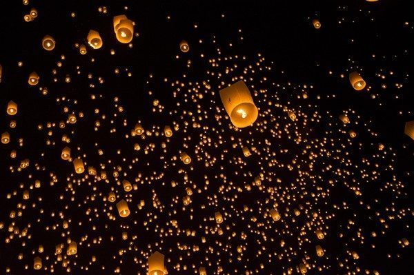 Image result for chiang mai new year lanterns