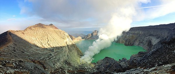 Ijen Volcano in Indonesia