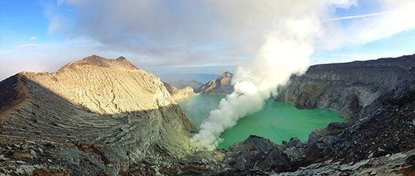 Ijen Volcano in Indonesia