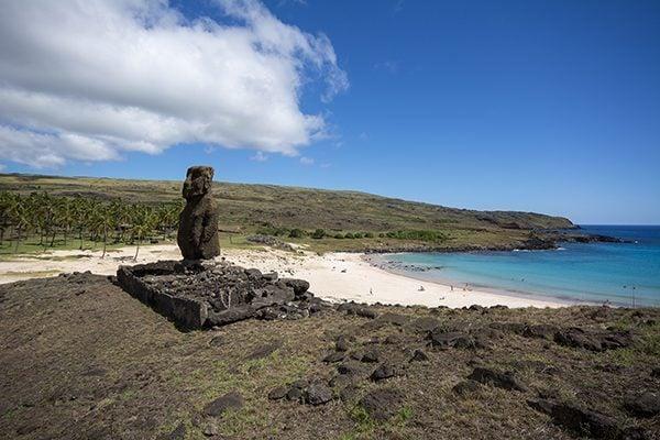 Awaken beach Easter Island