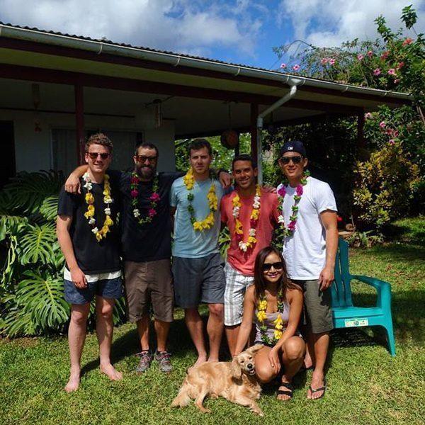 Friends in Easter Island