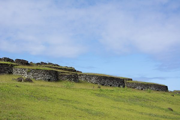 Orongo Dwellings, Easter Island