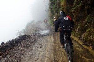 Surviving Death Road in Bolivia