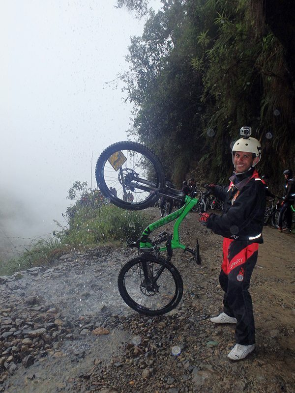 Biking The Death Road in Bolivia