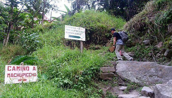Trail to Aguas Calientes