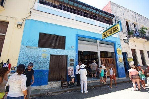 Bodeguita del Medio in Havana