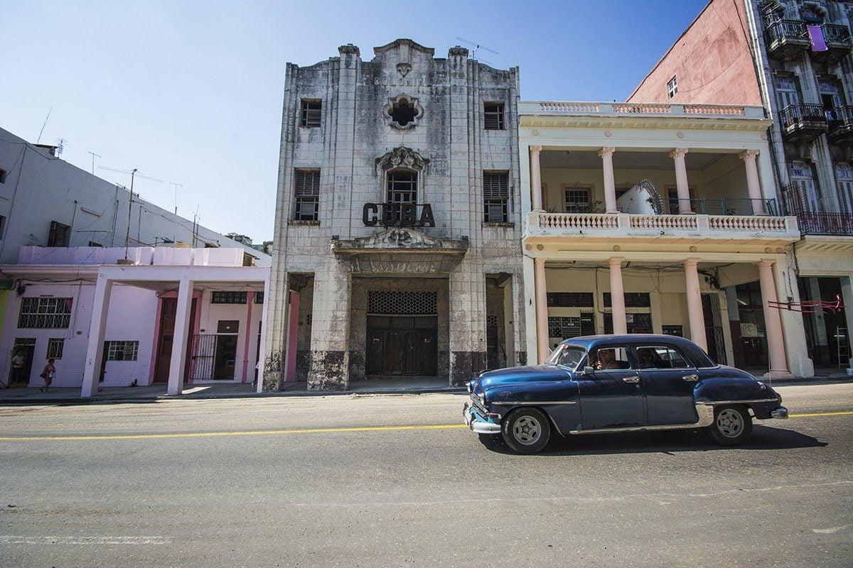 Cuba Building in Havana