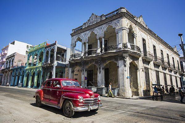 Streets in Havana, Cuba