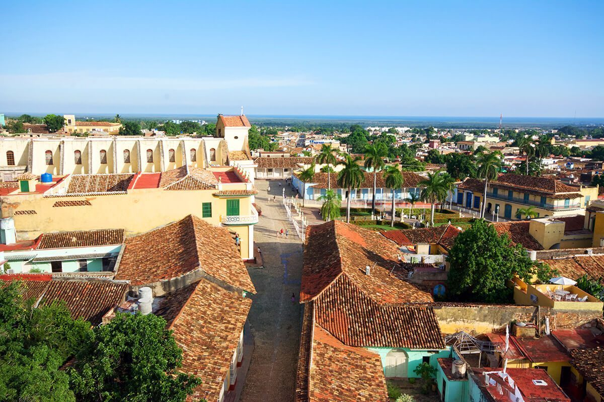 The bird's eye view from the tower in Trinidad, Cuba