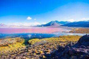 Laguna Colorada near Uyuni, Bolivia