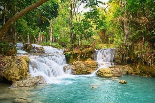 Kuang Si Waterfall - Luang Prabang, Laos