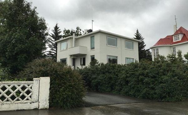 Bjork's House in Reykjavik