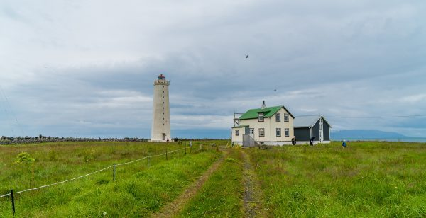 Gotta Lighthouse, Iceland